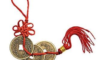 Китайская монета — символ богатства