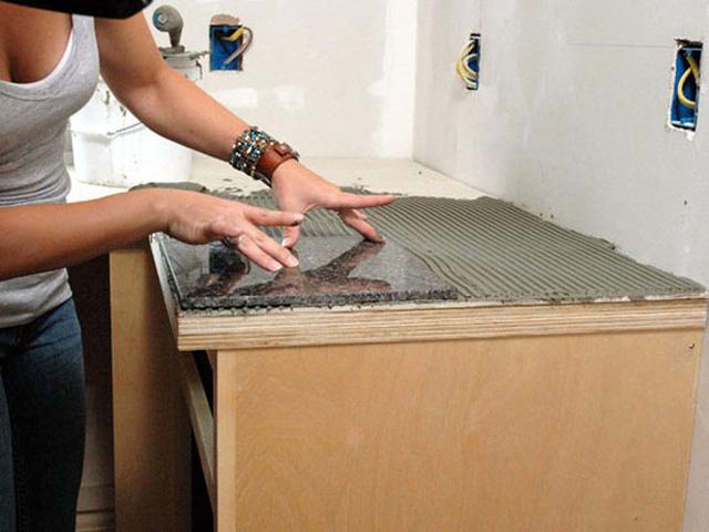 Оформление кухни при помощи плитки
