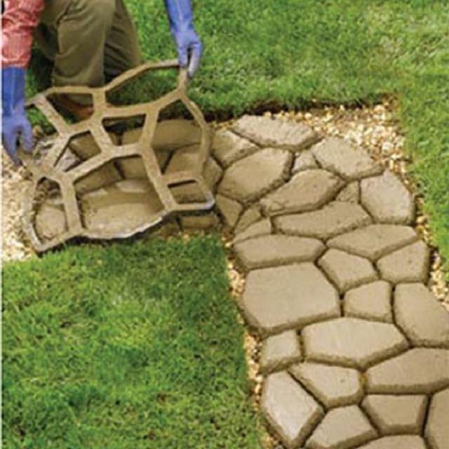 Тротуарная плитка своими руками из подручных материалов 35
