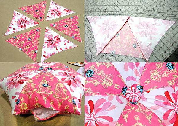 Декоративные подушки своими руками-11