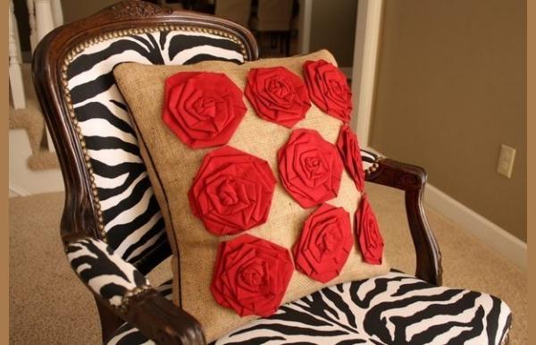 Декоративные подушки своими руками-14