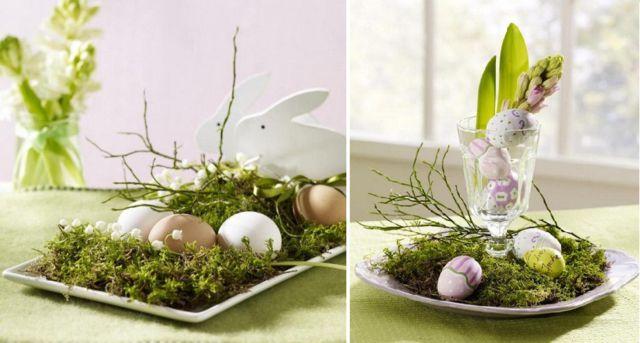 цветочный пасхальный декор