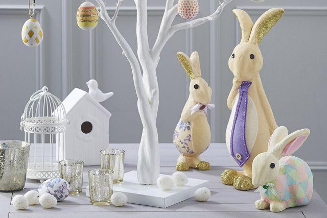 пахальные кролики в декоре дома