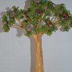 Денежное дерево своими руками из бисера