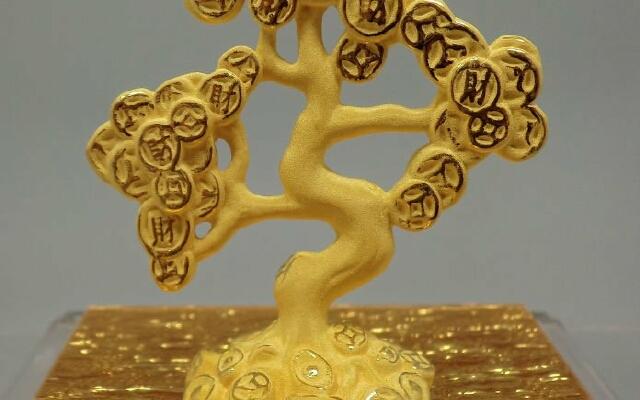 дерево из монеток