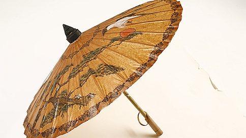 раскрытый китайский зонт