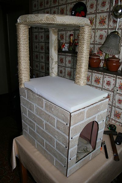 обработка домика декор