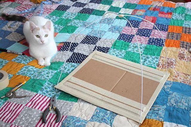 Как из футболки сделать коту