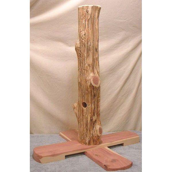 Когтеточка из дерева своими руками для кошки 153