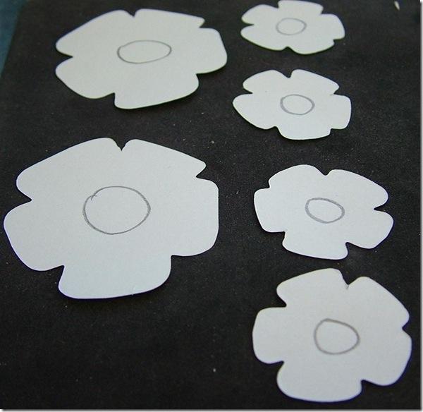 Роза из бумаги-2