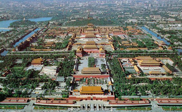 Китай, город - фото сверху