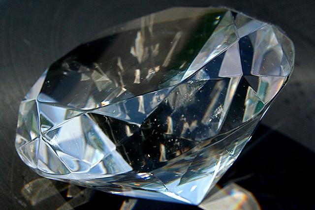 бриллиант крупным планом