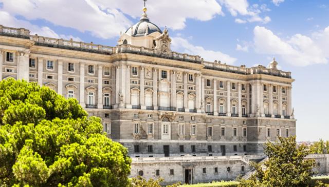 резиденцию испанских монархов Palacio Real