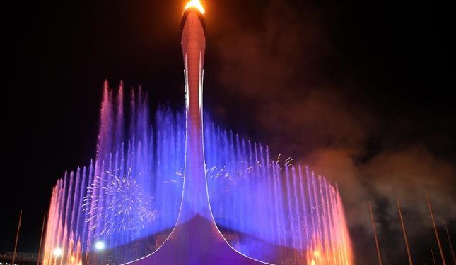 фонтан Чаша олимпийского огня