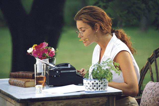 начинающий писатель