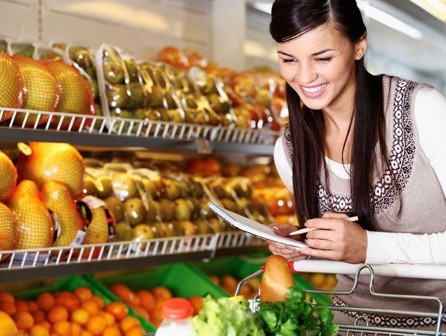 Закупка продуктов на семью