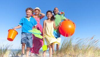 Недорогой отдых с детьми летом
