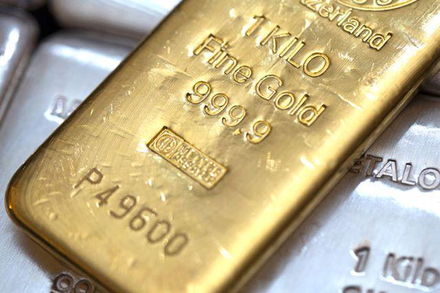 Номерной слиток золота