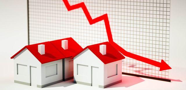 График снижения цен на недвижимость